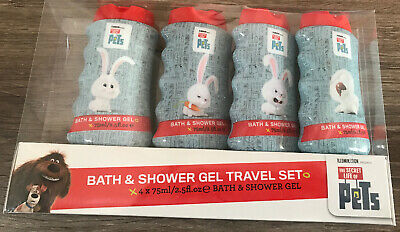The Secret Life Of Pets Bath & Shower Gel Gift Set Christmas Gift Present