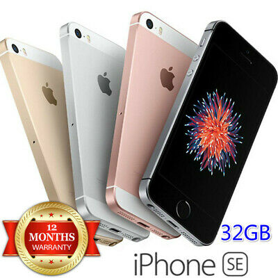 Apple iPhone SE 32GB A1662 GSM Verizon UNLOCKED Smartphone - New Sealed
