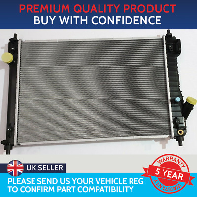 Radiator To Fit Chevrolet Aveo 1.4 Petrol 2005 To 2011