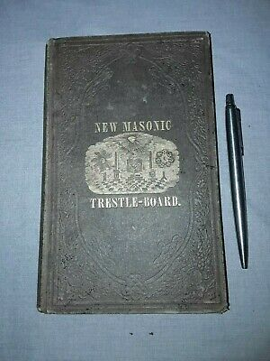 Freemasonry, Masonic, Antique, Symbolry, Knights Templar, Occult, Very Rare