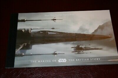 17/12/15 Royal Mail Prestige Booklet DY 15 The Making of Star Wars British Story