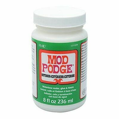 Mod Podge 236 ml Outdoor Waterbase Sealer  Glue and Finish, Clear