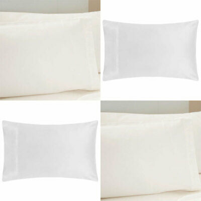 House of Windsor Premium Quality Non Iron Poly-Cotton Pillow Cases Pair