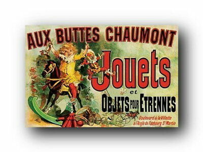 129359 Jouets vintage advertising As Seen of Friends Decor LAMINATED POSTER AU