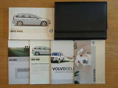 Volvo V70/XC70 Owners Handbook/Manual and Wallet 08-12