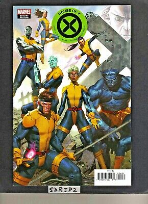 House Of X #4 Nm New Unread Molina Connecting Variant Powers X-Men Wolverine