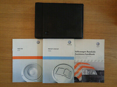 Volkswagen Caddy Owners Handbook Manual and Pack