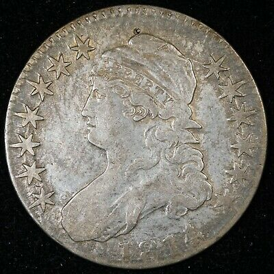 1814/3 Capped Bust Half Dollar
