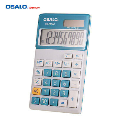 OSALO OS-280VC Portable Student Electronic Accounting Calculator Counter M8M4
