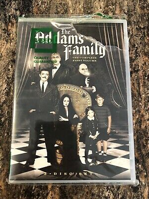 The Addams Family - Volume 1 - John Astin - NEW 3 DVD Set - TV Series 22 Episode
