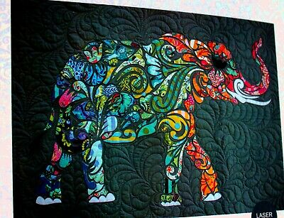 Laser Cut Quilts ALL STAR ELEPHANT kit Laser Cut Quilt