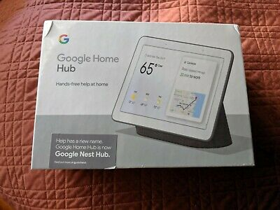 Google Nest Home Hub with Built-In Google Assistant Chalk NEW FREE SHIP - SEALED