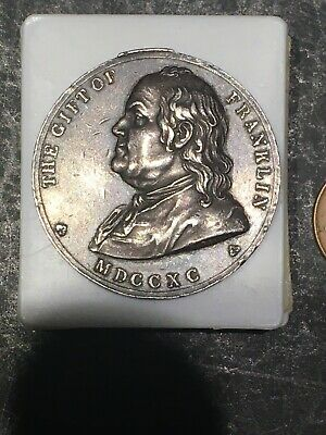 The Gift of Franklin MDCCXC 1855 Award Token