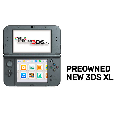 New Nintendo 3DS XL Console (Refurbished by EB Games) preowned - Nintendo 3DS -