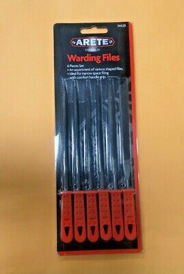 Warding Files 6 Piece Set Arete Tools Shaped Files  Hyt