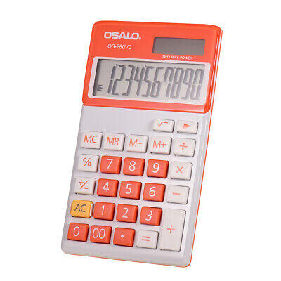 OSALO OS-280VC Portable Student Electronic Accounting Calculator Counter X0O4