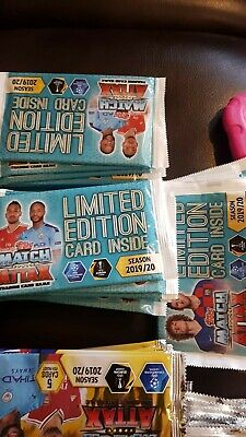 Match Attax 2019/20 19/20 Cards LIMITED EDITION PACKETS! GUARANTEED LTD ED CARD!