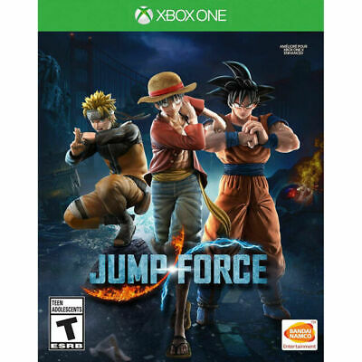 Jump Force -- (Microsoft Xbox One, 2019) Brand new