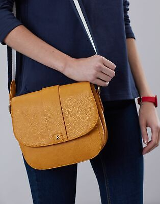 Joules Women Bridport Bright   Faux Leather Saddle Cross Body Bag -  in One Size
