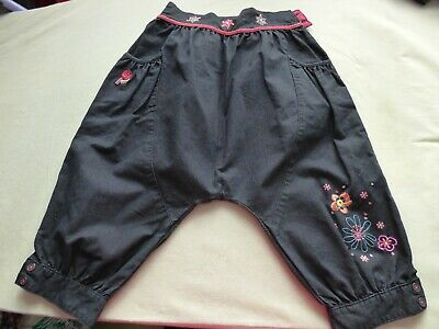 Orchestra french designer girls denim harem trousers age 8