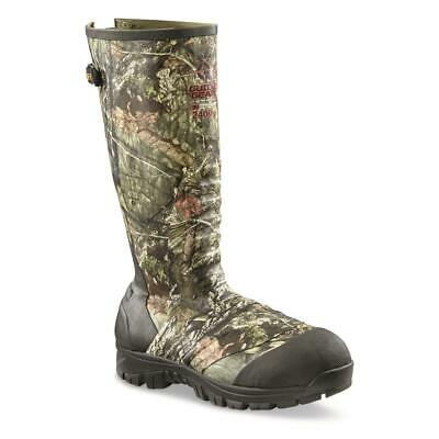 New Waterproof Mens Ankle Fit Insulated Rubber Hunting Fishing Boots 2,400-gram