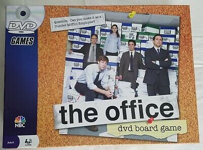 The Office DVD Board Game 100% Complete Dunder Mifflin Pressman NBC - BRAND NEW