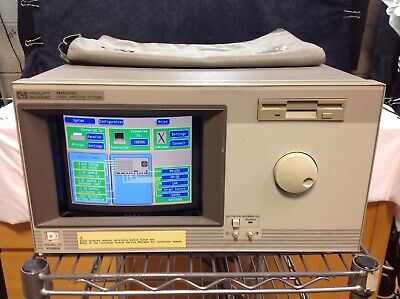 HP 16500C Touchscreen Logic Analysis System + Cables