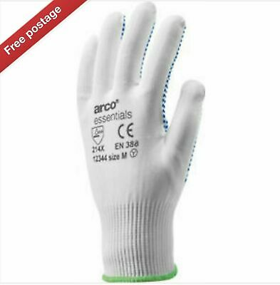Arco Price = £29.76 All sizes Available 12 x Arco Lycra /& Latex Black Glove
