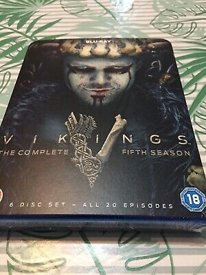 Vikings Season 5: Volumes 1 & 2 (Blu Ray) NEW  SEALED