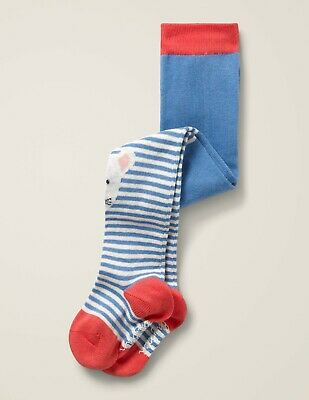 Boden Baby Infants 3-6 Months Everyday TIghts 2 Pairs Blue/Red Gray/Pink NWT