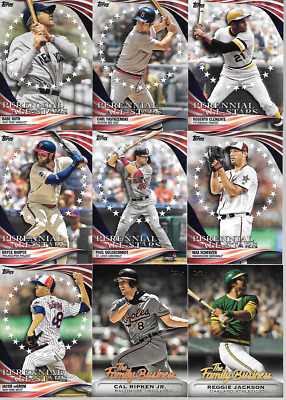 2019 Topps Update Insert & Parallel Singles***You Pick***