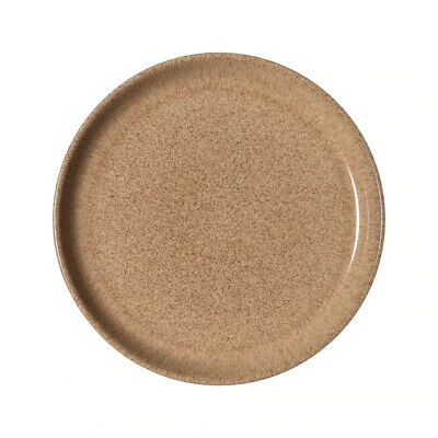 4x Denby Studio Craft Coupe Plate 260mm Brown Elm Round Crockery Commercial