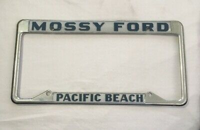 San Diego Ford Dealers >> Pacific Beach California Mossy Ford Pair Dealer License