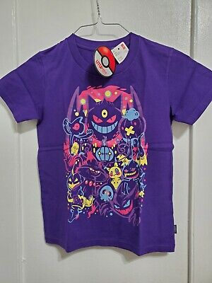 US SELLER- Pokemon UNIQLO Graphic UT T shirt Manga Gengar