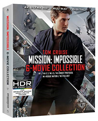 `CRUISE,TOM`-4K Blu-Ray - MISSION:IMPOSSIBLE 6 MOVIE COLLECTION Blu-Ray NEW