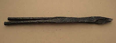 Nice Viking Forceps Blacksmith Tool 7-10 AD Kievan Rus