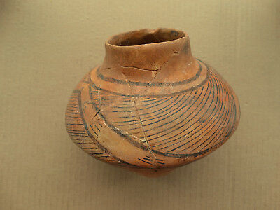 Restored Cucuteni–Trypillia culture Pot with Rare Ornament 5000-3000 BC