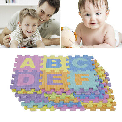 For Kids Baby Foam Floor Puzzle Play Mat Pad Crawling Carpet DIY Toy