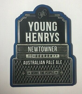 Young Henry's Australian Pale Ale Beer BRAND NEW Metal Badge Decal