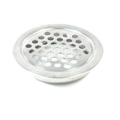 40mm x 8mm Stainless Steel Kitchen Bathroom Sink Strainers Air Vent