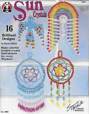 Sun crystals beaded sun catcher 16 brilliant designs to make vintage craft 1995