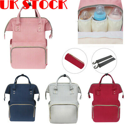 Baby Diaper Nappy Mummy Changing Bag Backpack Hospital  Maternity Rucksack