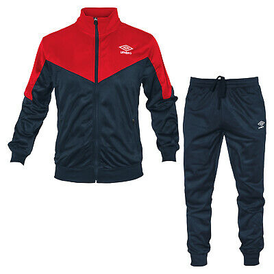 Tuta Uomo UMBRO Triacetato Full Zip 5 Colori Art.107B