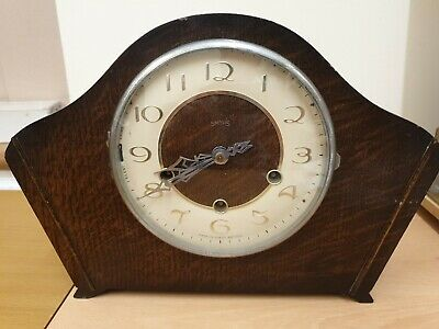8 Day Westminster Chime Mantel Clock  C1950 by Smiths