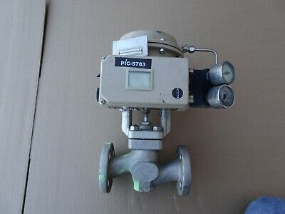 Samson 3241 stainless Flanged Globe control Valve 3730 Positioner 3271 actuator
