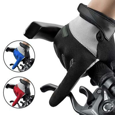Full Finger Glove Racing Motorcycle Gloves Cycling Bike BMX MTB Bicycle Riding