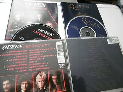 Queen Greatest Hits 1 2 I Ii Cd Album 34 Trks Ga Ga Flash Bo Rhap Rock You Dust