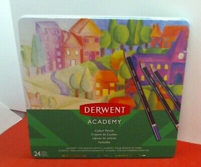 Derwent Academy 2301938 Colouring Pencils Pack of 24