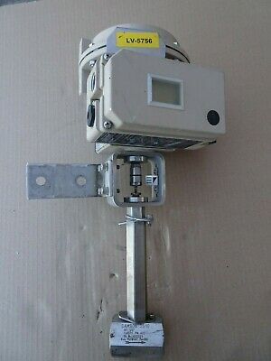 Samson 3510 Micro Flow Valve Electropneumatic Positioner 3730-3 Stainless 1/2in