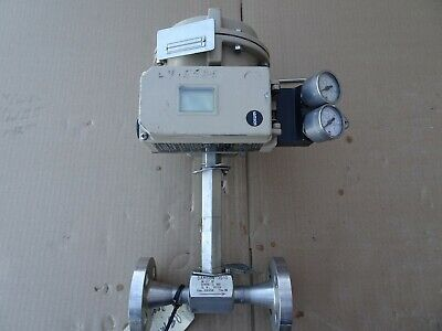 """Samson 3510 stainless Flanged 1/2"""" control Valve 3730 Positioner 3271 actuator"""
